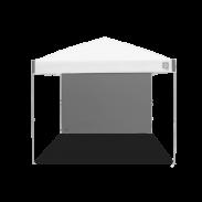 E-Z UP® - Parois loisir - Droites - 3x3m Ambassador™/Envoy™ - Gris acier