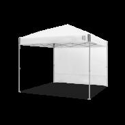 E-Z UP® - Parois loisirs - Droites - 3x3m - Ambassador™/Envoy™ - Blanc