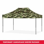 Eclipse™ Tente pliante camouflage 3 x 4,5 m