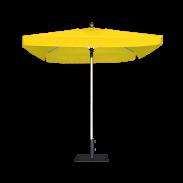 Parasol carré ProUmbrella™ - 2m avec cantonnières